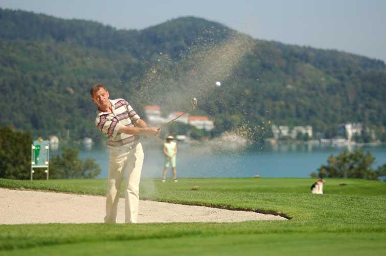 Golf, Golfer, Golf Spielen, Velden, Wörthersee, Villa Lombardi, Urlaub